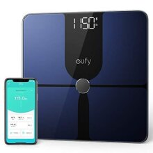 eufy Smart Scale P1 with Bluetooth, Large LED Display, 14 Measurements, Weight/Body Fat/BMI/Fitness Body Composition Analysis, Auto On/Off, Auto Zer