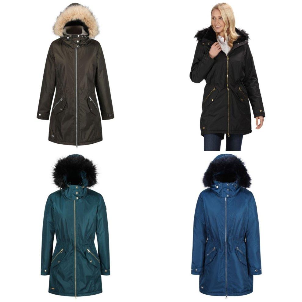 Regatta Womens Lexia Waterproof Parka Jacket Coat Ladies Outdoor