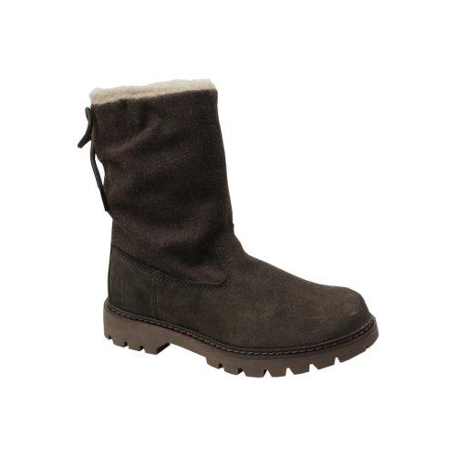 (3 (Adults')) Caterpillar Showcase Fur P310537 Womens Brown winter boots