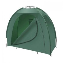 Garden Storage Tent - Green Bicycle Shelter Bike Equipment Cover Shed Outdoor