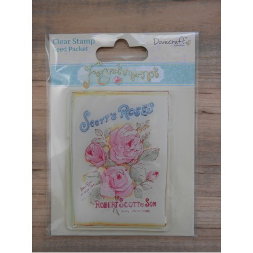 Dovecraft Clear Stamp -Seed Packet