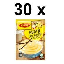 30 x Vanilla Pudding / Winiary Budyń Pack 60g FULL CASE BBE 30/06/20