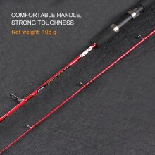 Solid High Carbon Fiber Fishing Rod Pole Fishing Accessories 120/135/150cm