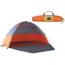 Nalu UV-Protected Orange Beach Shelter Tent & Carry Bag
