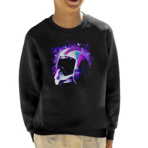 Original Stormtrooper Rebel Pilot Helmet Galaxies Kid's Sweatshirt