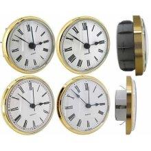 Clock Movement Quartz Insertion Insertions Roman Numerals 72mm White Dial