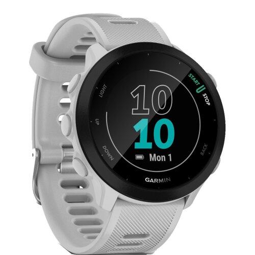 Garmin Forerunner 55 GPS Running Smart Watch - Whitestone