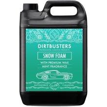 Dirtbusters mint snow foam shampoo cleaner with wax mint fragrance 5l