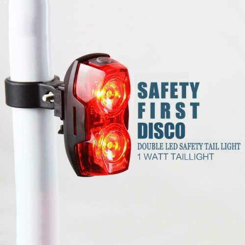 Waterproof Bicycle Safety Tail Light Rear Cycling Lamp Ultra Bright