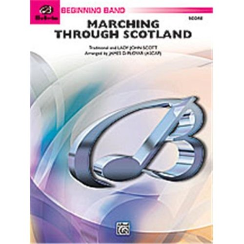 Alfred 00-24703 MARCHING THROUGH SCOTLAND-BBB SET4D
