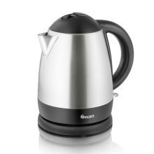 Swan Stainless Steel Cordless Kettle 1L Capacity