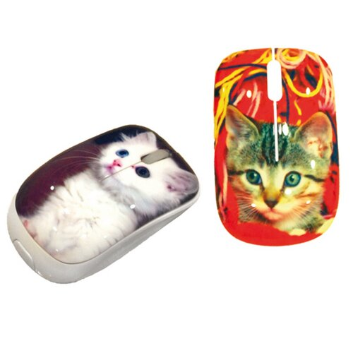 T-Pets Official Cats Mini Optical Computer Mouse (Compatible Only With Windows XP, 2000, And 7)