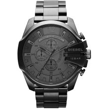 Diesel Mega Chief Men's Watch Chronograph DZ4282,New with Tags 2 Years Warranty