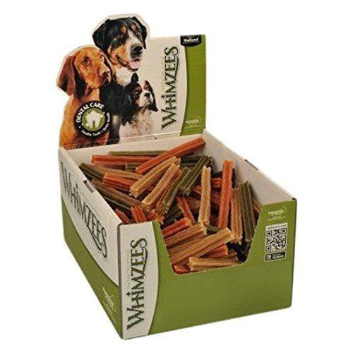 Whimzees Natural Dental Dog Treats, Stix Small, 150-Pieces