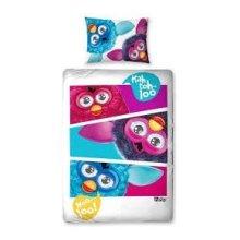 Furby Childrens/Kids Reversible Duvet Set
