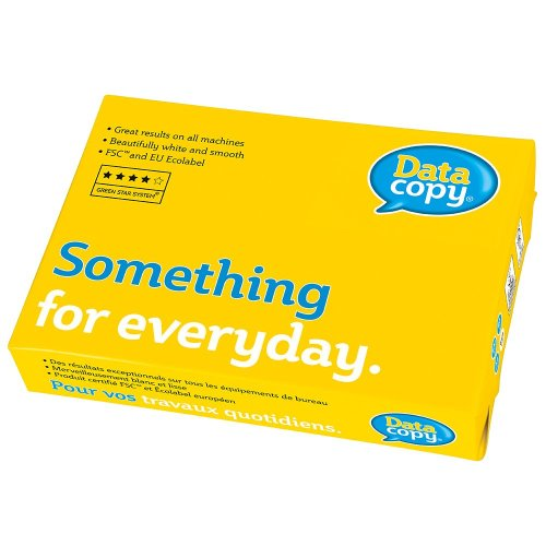 Data Copy Everyday A4 80gsm White Paper 1 Ream (500 Sheets)