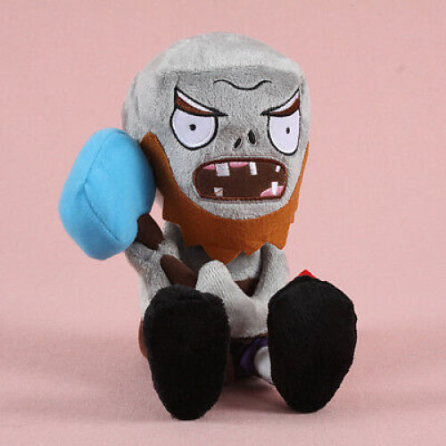 (Chinese Gong Zombie) Plants vs Zombies Figures Plush Toy Stuffed Doll