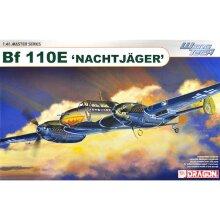 DRAGON 5566 Messerschmitt Bf-110E Nachtjager 1:48 Plastic Model Aircraft Kit