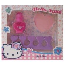 manicure set girls foam purple/pink 5-piece