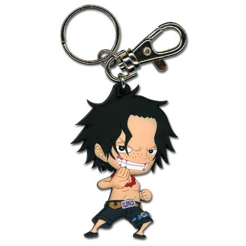 Key Chain - One Piece - New SD Ace Anime Toys Licensed ge36803