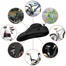 Gel Bike Seat Cover Padded - Soft Bicycle Saddle comfortable Cushion