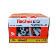 Fischer 555008 Duopower 8mmx40mm Box Of 100
