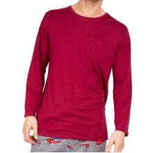 Cyberjammies Frankie 6647 Men's Red Cotton Pyjama Top