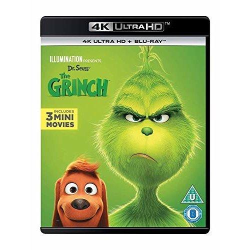 The Grinch 4K Ultra HD + Blu-Ray [2019]