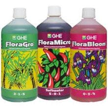 GHE Flora Grow / Bloom / Micro