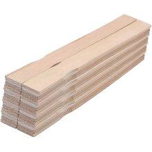 Wooden Paint Stir Sticks 12 Inch (40 Pack)