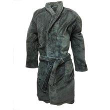 Farah Men's Grey Soft fluffy Luxury Robe