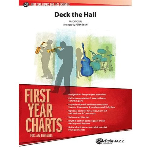 Alfred 00-33327 Deck the Hall - Music Book