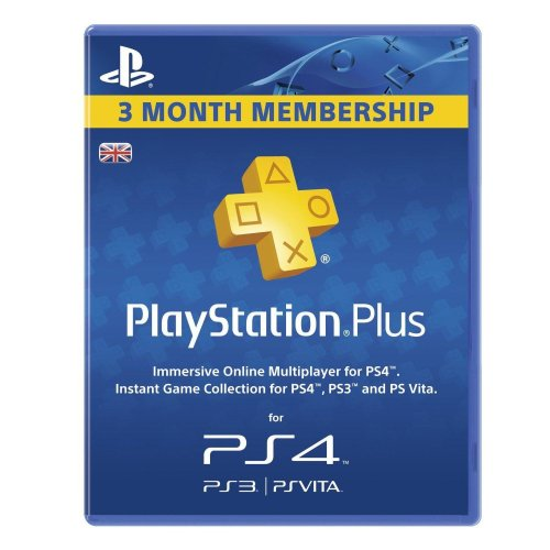 Sony PlayStation Plus Card - 90 Day Subscription