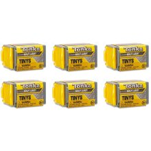 Tonka Tinys Rolling Tiny Real Tough Vehicles with Stackable Garage Blind Box 6 Pack