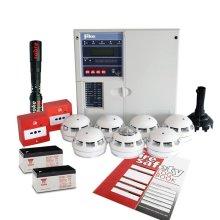 Fike Twinflex Pro2 Fire Alarm Kit - 8 Zone Kit With Batteries