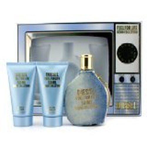 Fuel For Life Denim Collection Femme Coffret Gift Set  50ml Eau De Toile+ 50ml  Shower Gel + 50mlBody Lotion