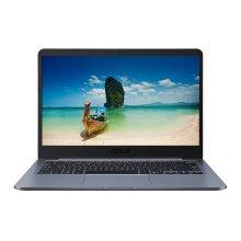 "ASUS E406NA-BV008TS LPDDR3-SDRAM Notebook 35.6 cm (14"") 1366 x 768 pixels Intel Celeron 4 GB 64 GB eMMC Wi-Fi 5 (802.11ac) Windows 10 Home S Grey - Refurbished"