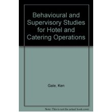 Behavioural and Supervisory Studies for Hotel and Catering Operations - Used