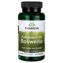 Swanson Full Spectrum Boswellia Double Strength Capsules, 800 mg, Pack of 60 Capsules