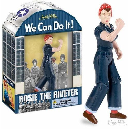 Action Figure - Archie McPhee - Rosie The Riveter New 12561