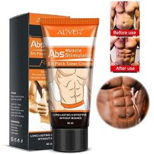 Six Pack Abs Muscle Toning Cream Gel - Stimulates Abs Muscle Growth Reducing Production of Fat Cells - Use on Abdomen/Waist/Leg/Arm/Buttock/Shoulder