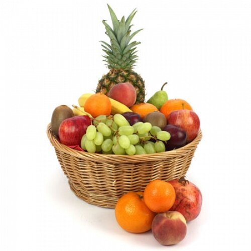 Bali Fruit Basket - Fruit Gift Baskets and Gift Hampers with Personal Message Attached