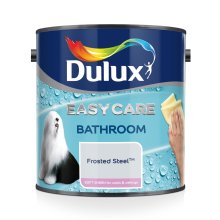 Dulux Easycare Bathroom Plus Soft Sheen Paint, Frosted Steel, 2.5 Litre