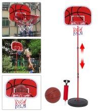 Free Standing Basketball Hoop Net Backboard Stand Set Adjustable