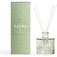 Skandinavisk Fjord Scent Diffuser 200ml - Painted glass bottle with a blend of perfume, Fjord Green
