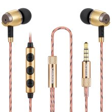 Sephia SP4080 Earphones Noise Isolating Headphones with Bass Driven Sound for iPhone, iPad, iPod, MP3 Players, Samsung (With Volume Control)