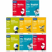 Bond 11+:Assessment Papers Book 2 Year 9-11 Bundle-8 Books
