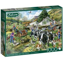 Jumbo Falcon de Luxe - Another Day on the Farm 1000 Piece Jigsaw Puzzle