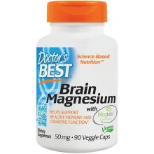 Doctor's Best  Brain Magnesium with Magtein, 50mg - 90vcaps