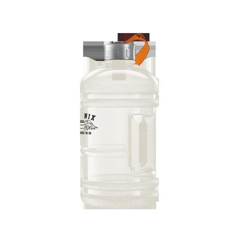 1L Hydration Bottle - Clear